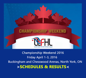 CHAMP WEEKEND 2016 FRONT PAGE RESULTS